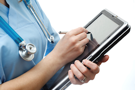 Electronic Health Records Tablet Computer